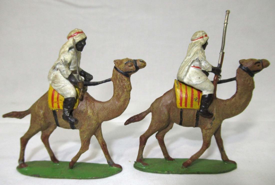 5 Lead Soldiers Camel Cavalrymen - 2