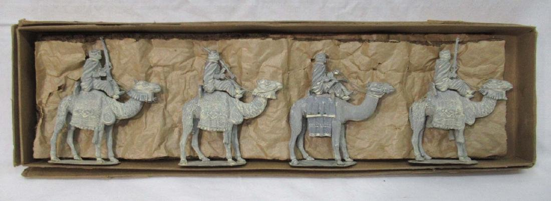 4 Lead Soldiers Moroccan Camel Corp, Orig. Box