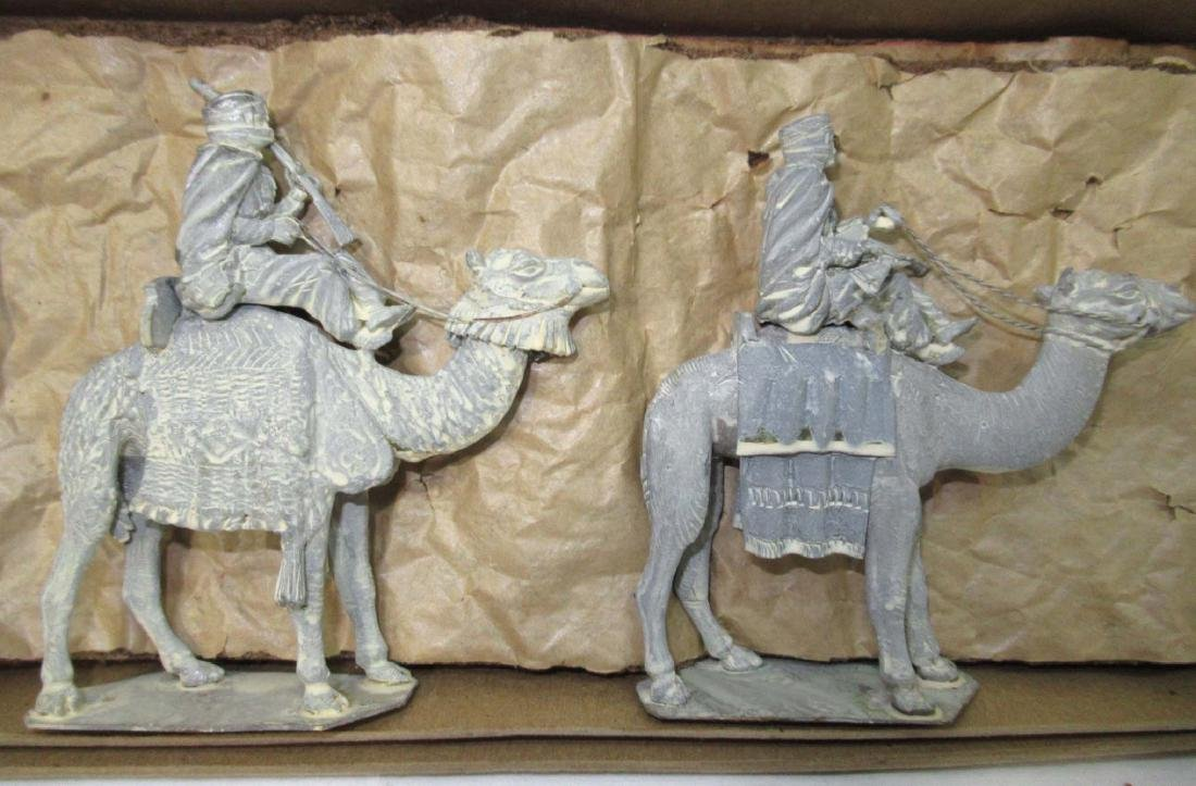 4 Lead Soldiers Moroccan Camel Corp, Orig. Box - 2