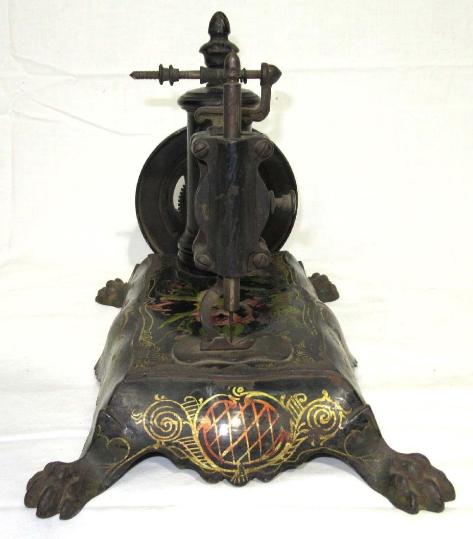 Early Cast Iron Paw Foot Sewing Machine - 2