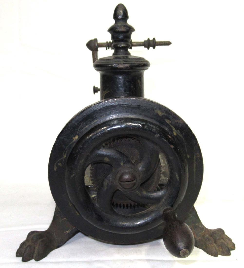 Early Cast Iron Paw Foot Sewing Machine - 5