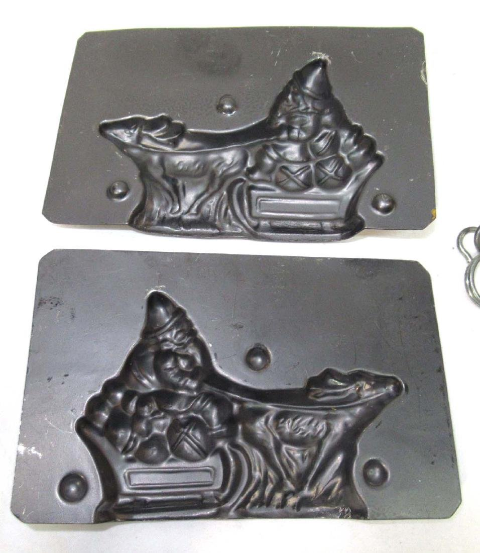 Santa in a Sleigh Chocolate Mold - 4