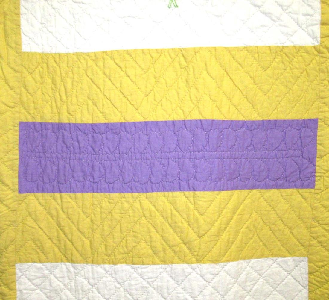 Hand Made Quilt - 3