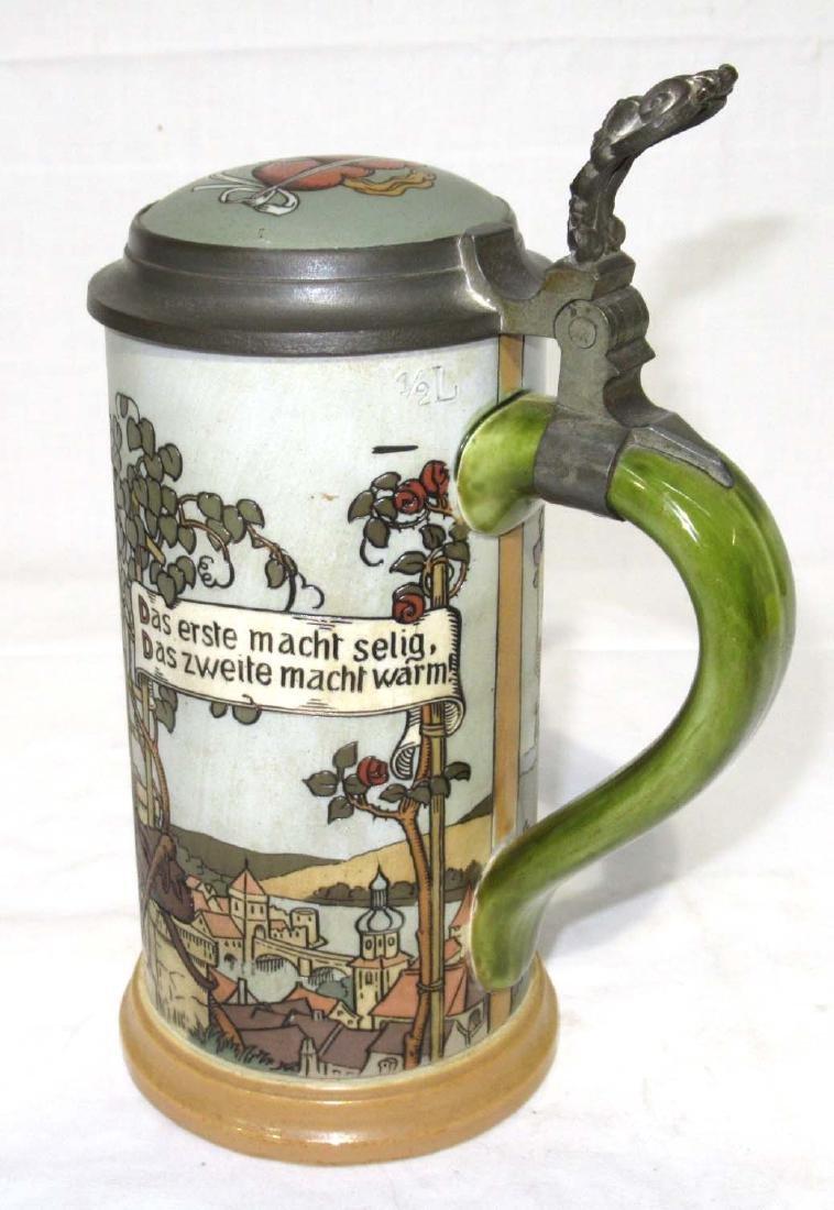 Mettlach Beer Stein - 2