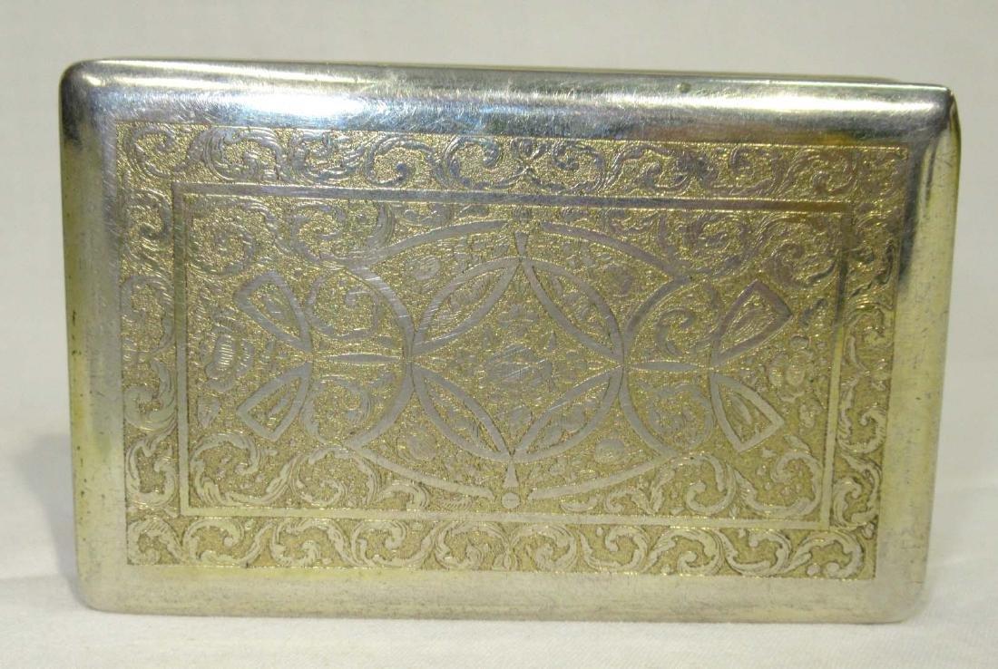 Enameled Silver Snuff Box 96 gm. - 2