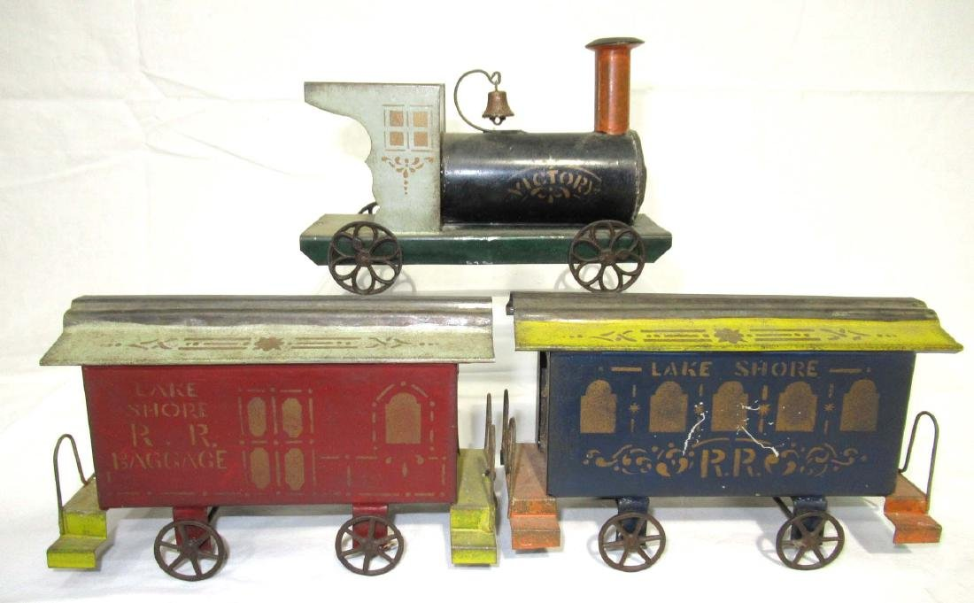 Early Tin Train Toy