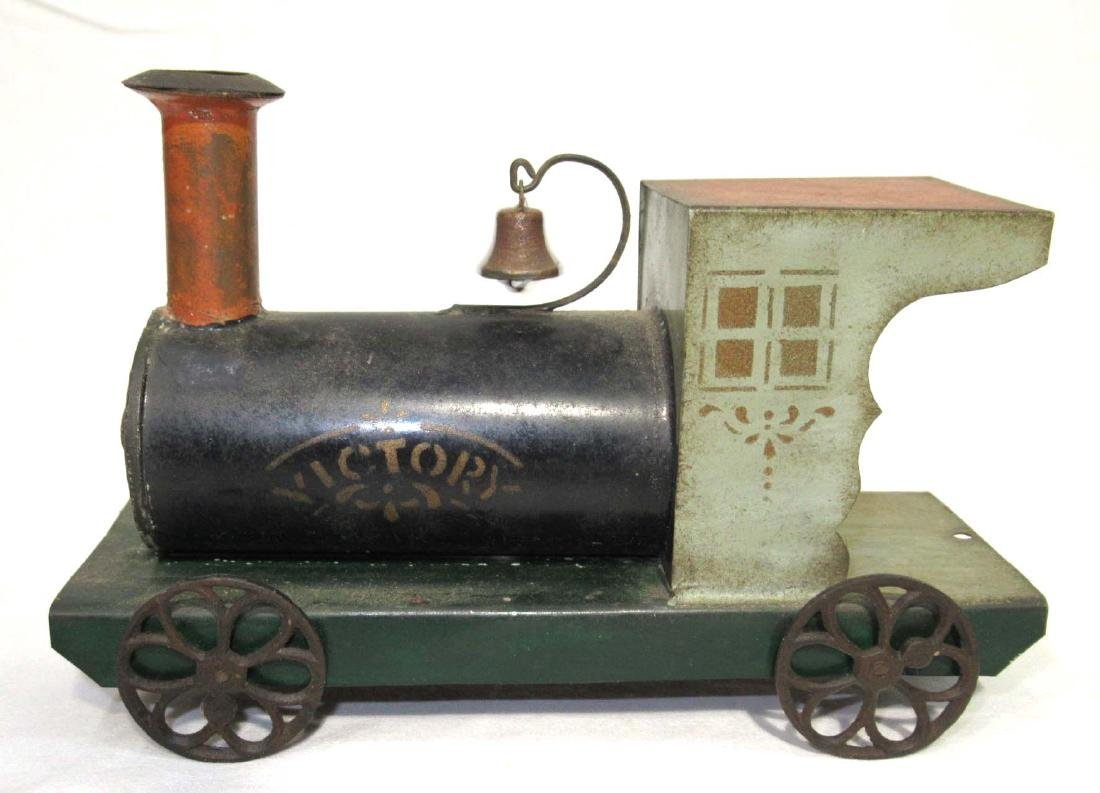 Early Tin Train Toy - 2