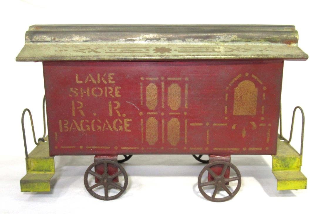 Early Tin Train Toy - 4