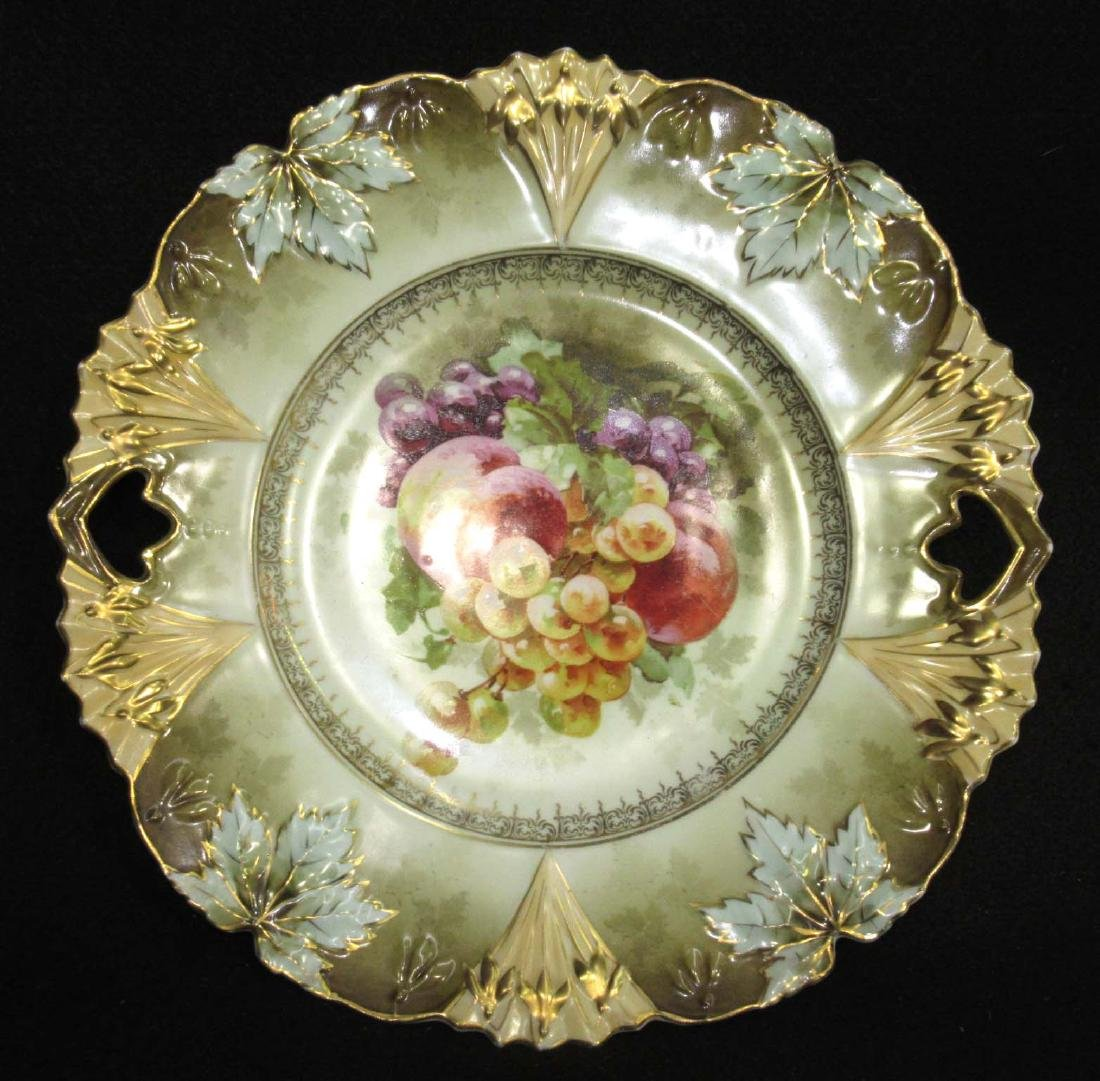RS Prussia Red Mk. Cake Plate