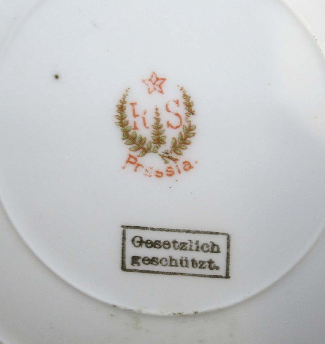 RS Prussia Red Mk. Cake Plate - 3