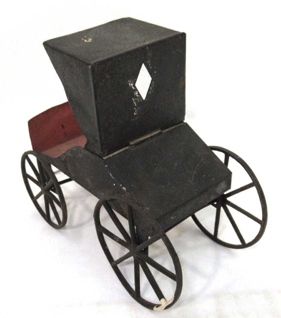 Early Tin Buggy Toy - 3