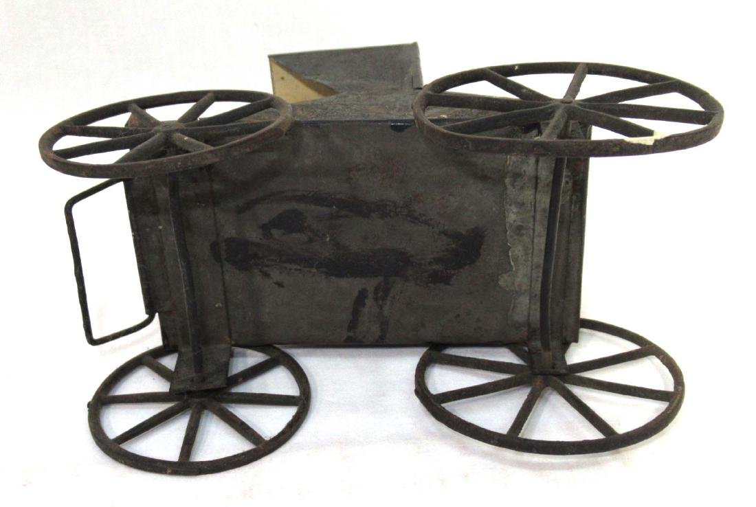 Early Tin Buggy Toy - 4