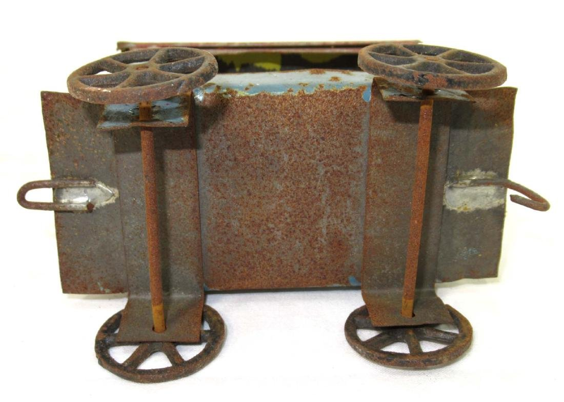 Early Tin Cart Toy - 3