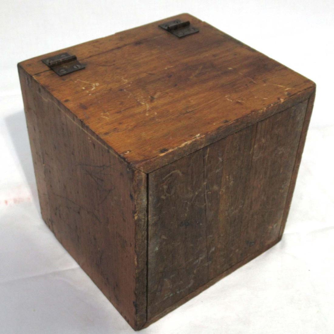 Wooden Cube Root Blocks in Orig. Box - 4