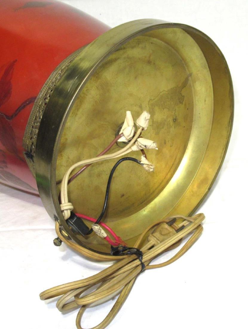 Huge H.P. Vase Lamp - 4