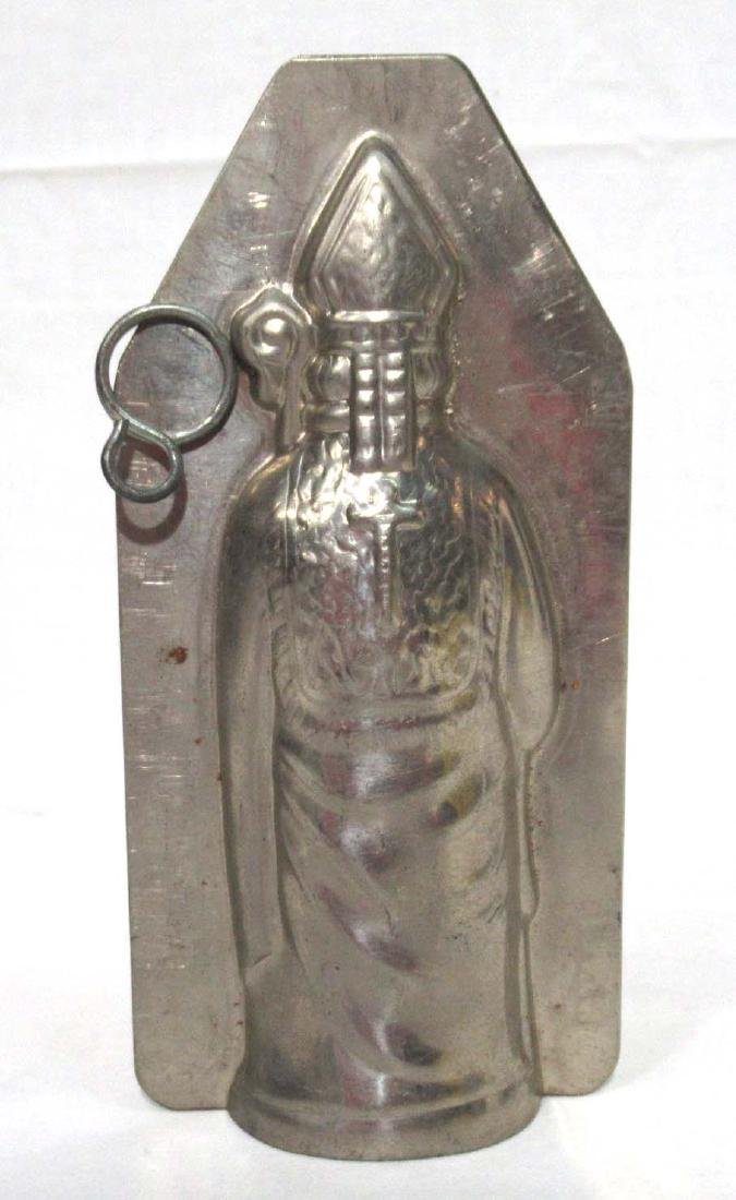 Tin St. Nicholas Chocolate Mold - 2