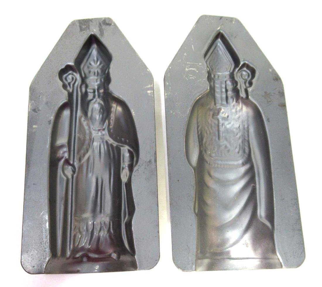 Tin St. Nicholas Chocolate Mold - 3