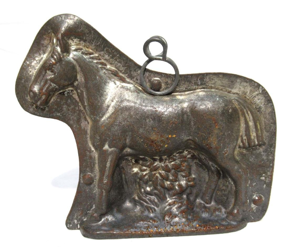 Tin Horse Chocolate Mold