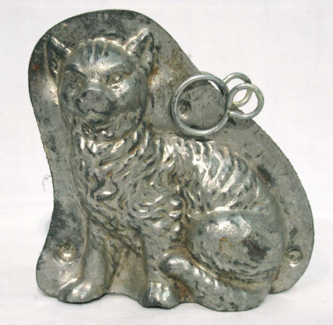 Tin Cat Chocolate Mold