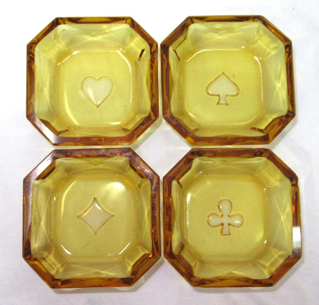 Set of 4 Intaglio Salts