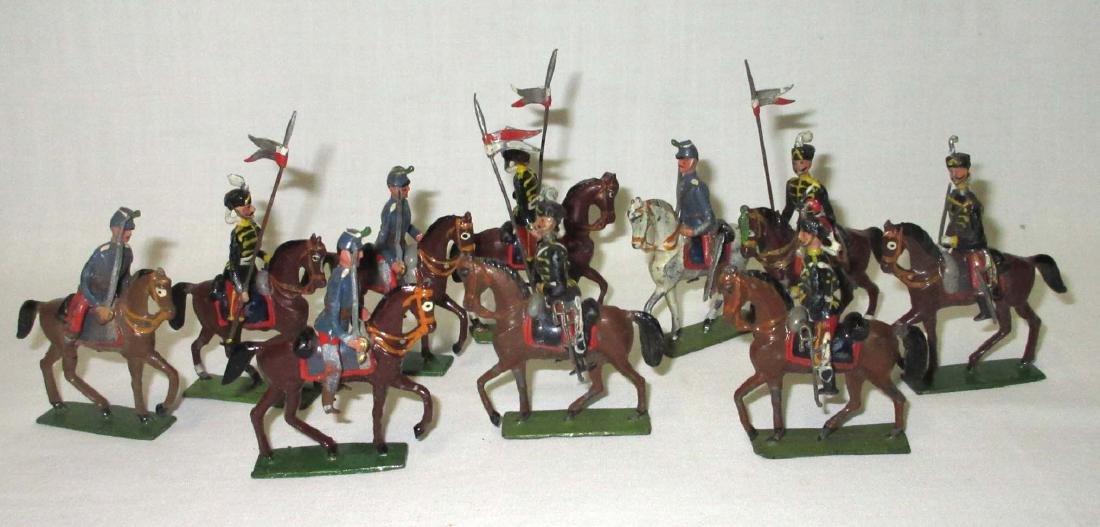 10 Lead Soldiers Cavalryman