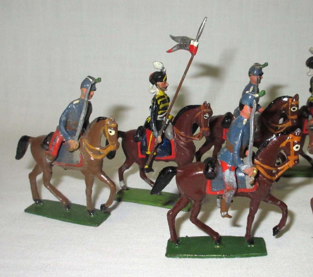 10 Lead Soldiers Cavalryman - 2