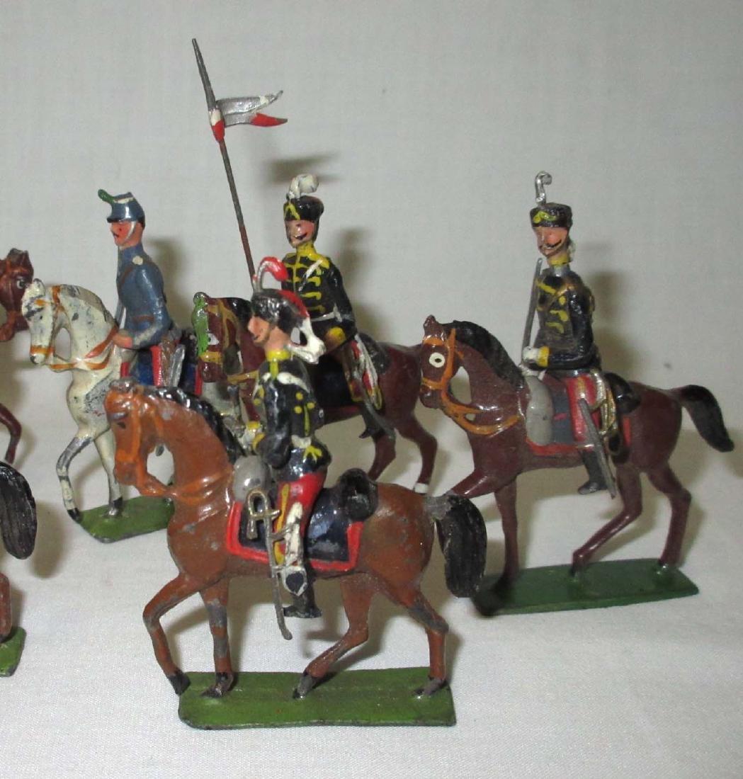10 Lead Soldiers Cavalryman - 3