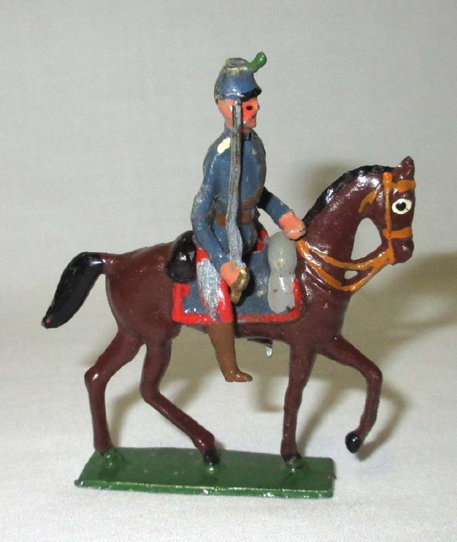 10 Lead Soldiers Cavalryman - 5