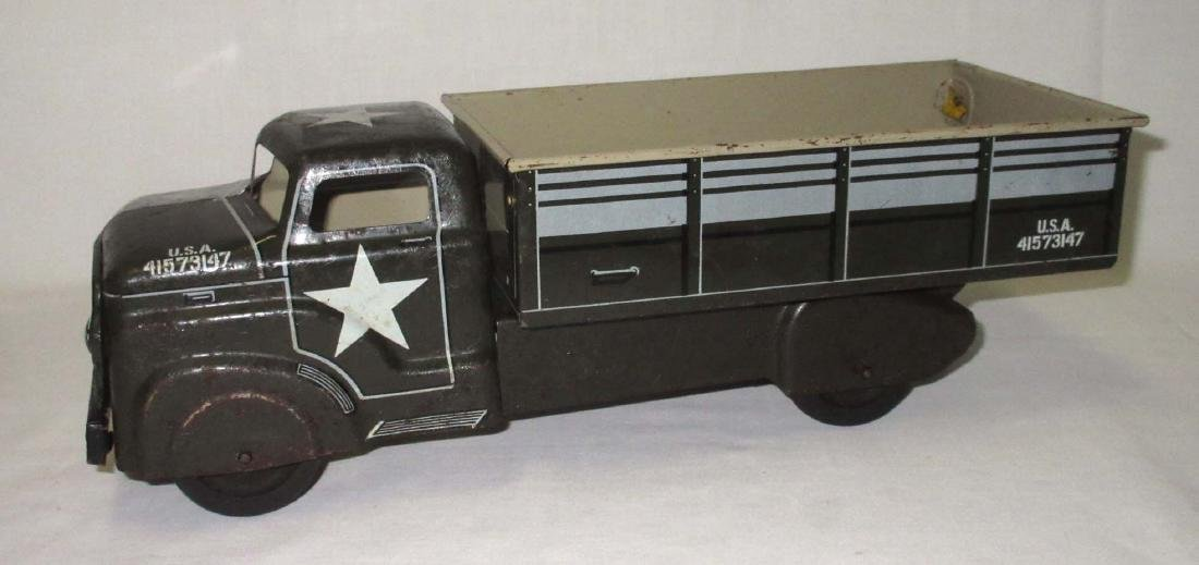 Marx Toy Army Truck - 2