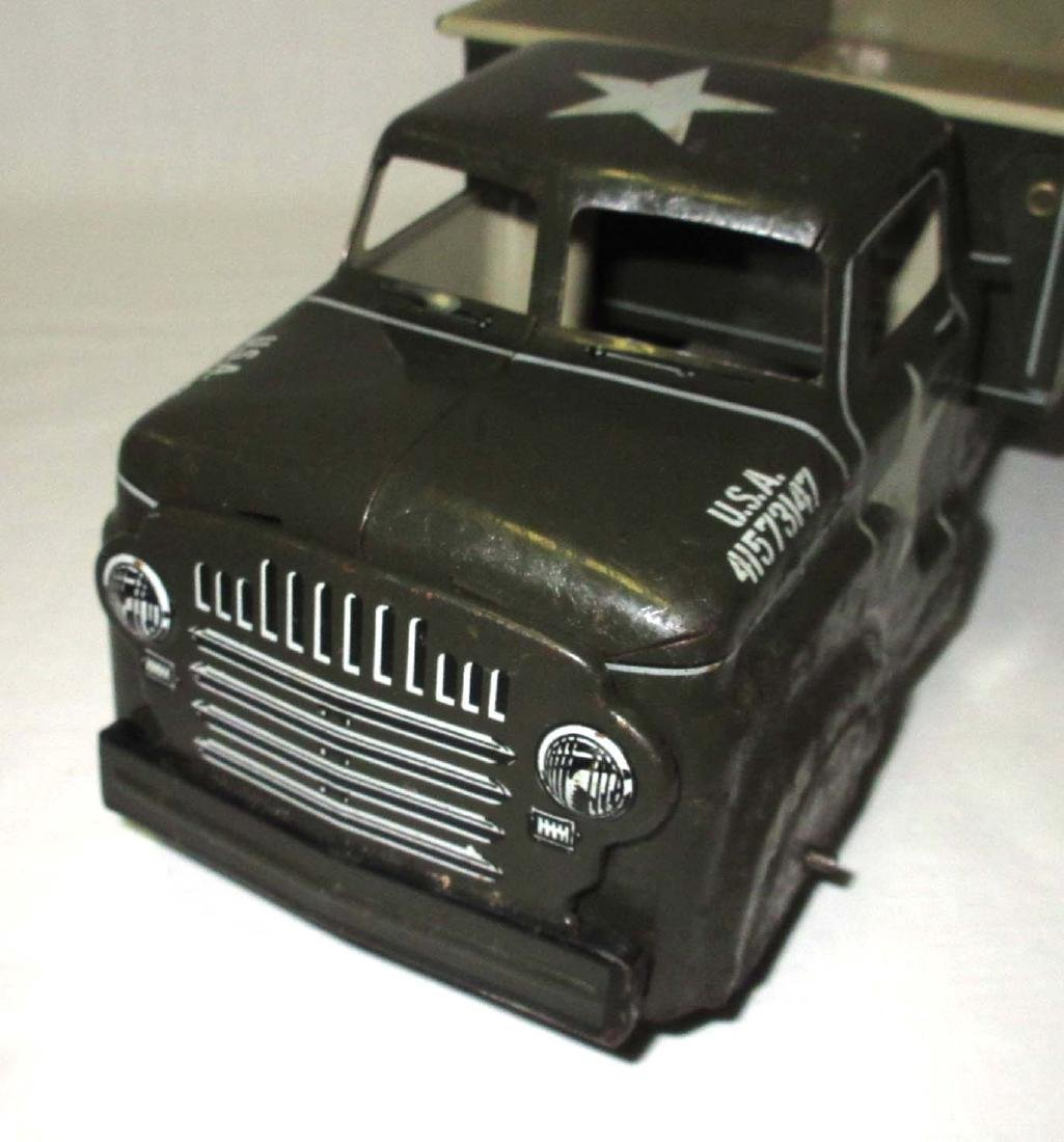 Marx Toy Army Truck - 3