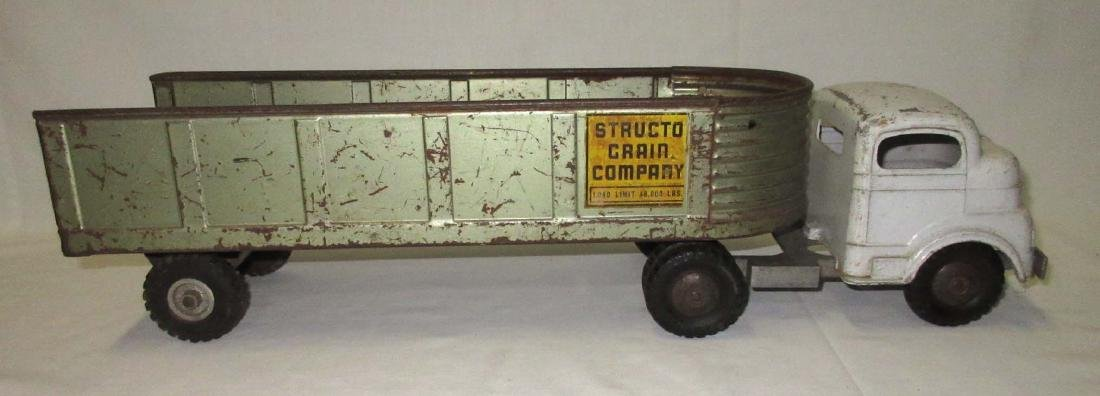 Structo Toy Grain Truck - 3