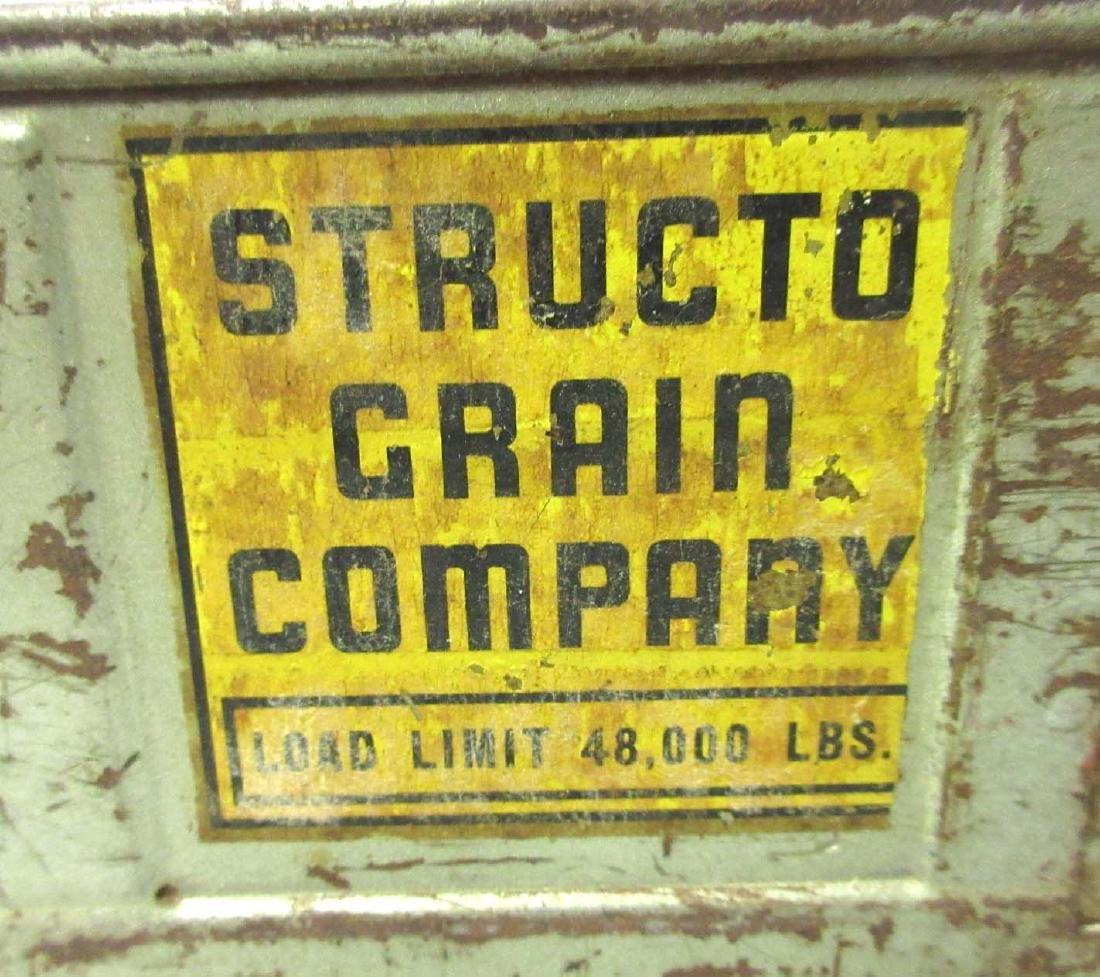 Structo Toy Grain Truck - 4