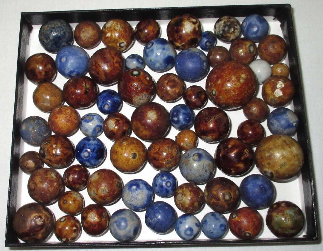 Lot of Bennington Marbles