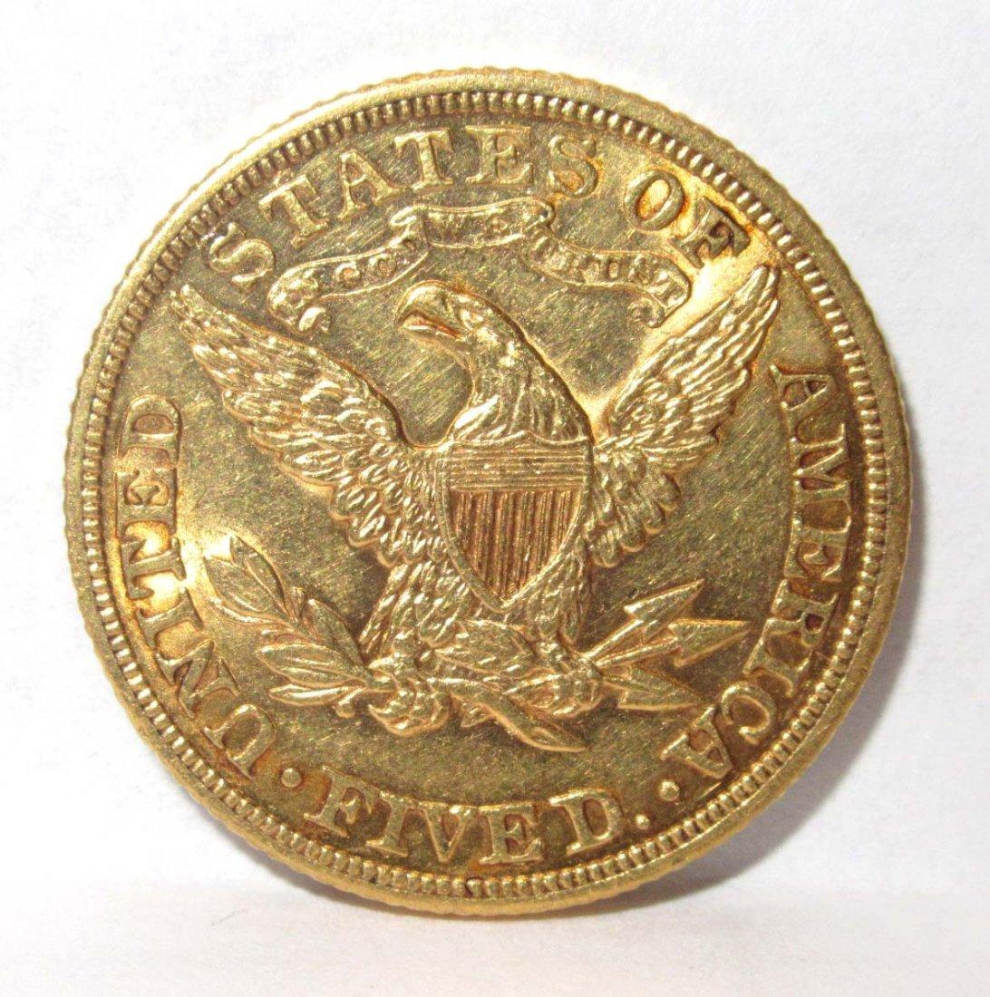 1907 $5 Gold Coin - 2