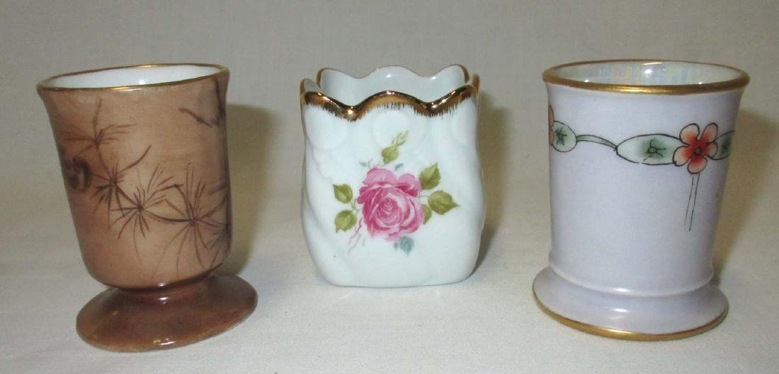 3 Limoges France Toothpick Holders - 2