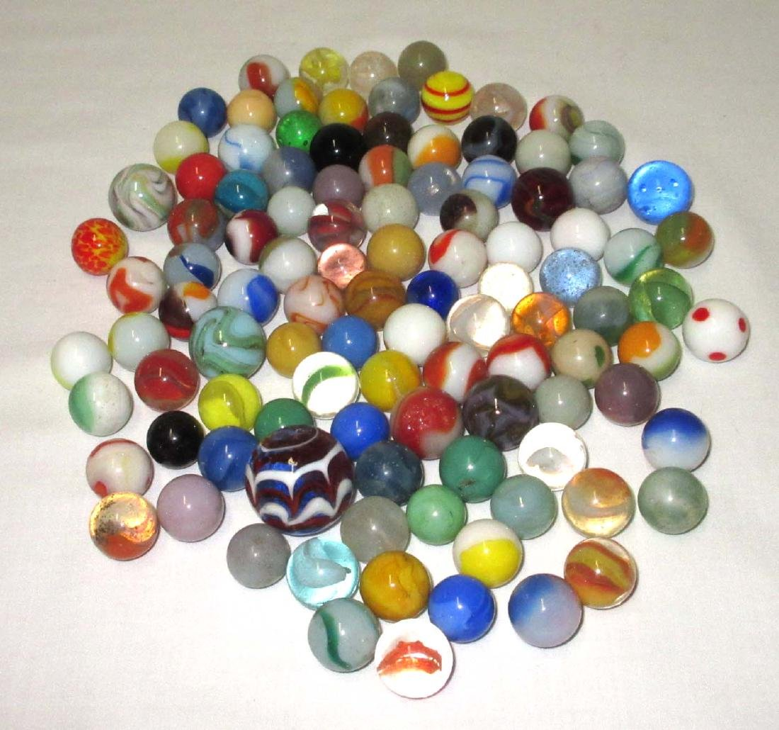 Lot of 100+ Marbles