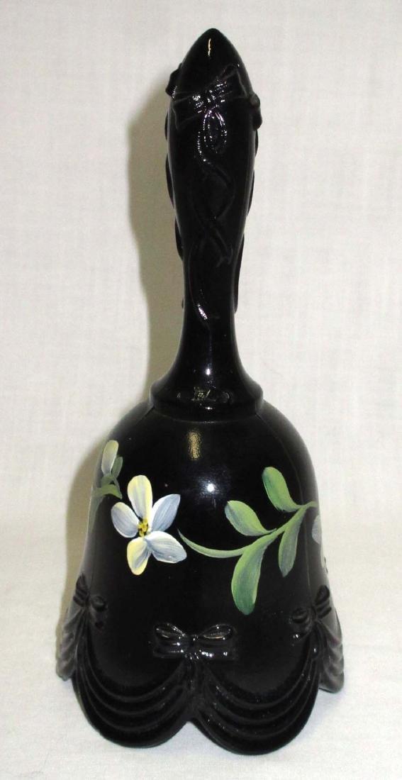 Fenton H.P. Glass Bell Artist Sgnd - 2