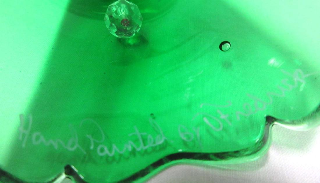 Fenton H.P. Glass Bell Artist Sgnd - 3