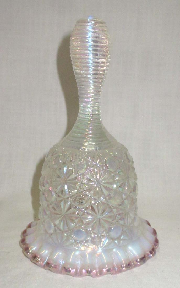 Fenton Opalescent Glass Bell