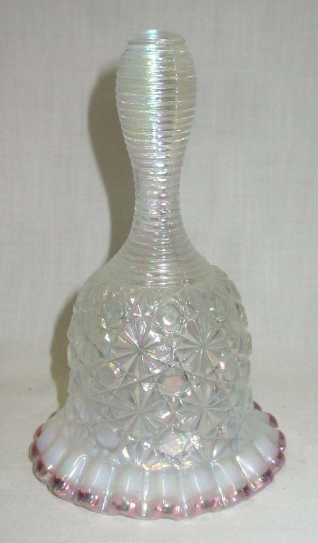 Fenton Opalescent Glass Bell - 2
