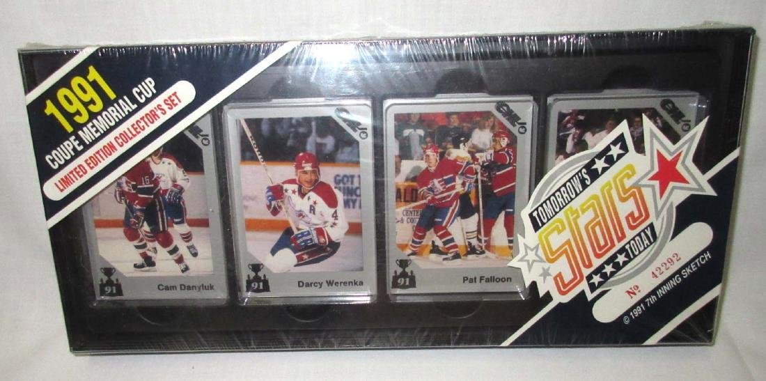 3 Boxes 1988, 90, & 91 Hockey Cards - 2
