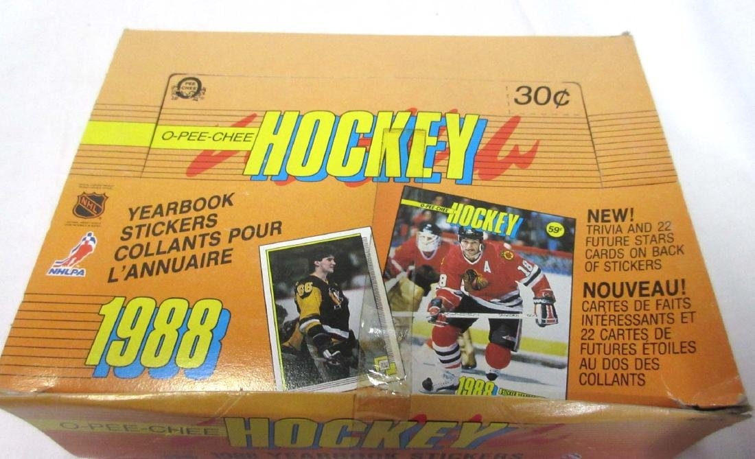 3 Boxes 1988, 90, & 91 Hockey Cards - 4
