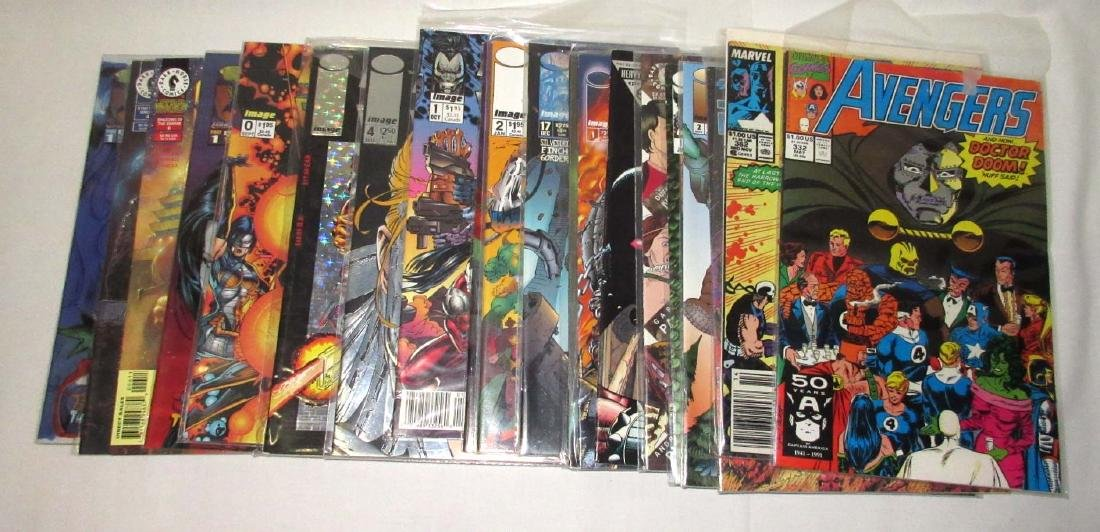 Lot of 20 Mint Unread Comic Books