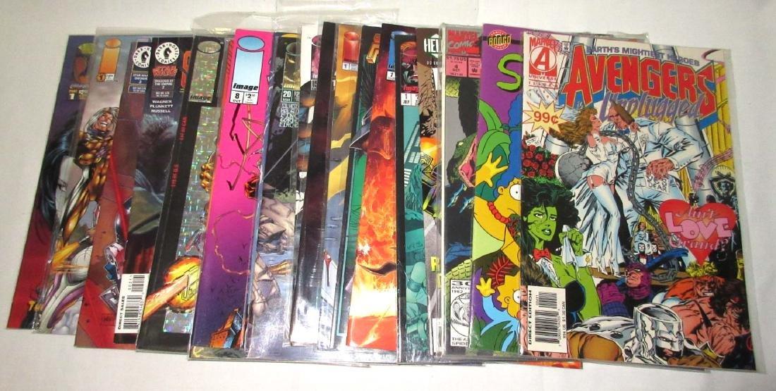 Lot of 20 Mint Unread Comic Books