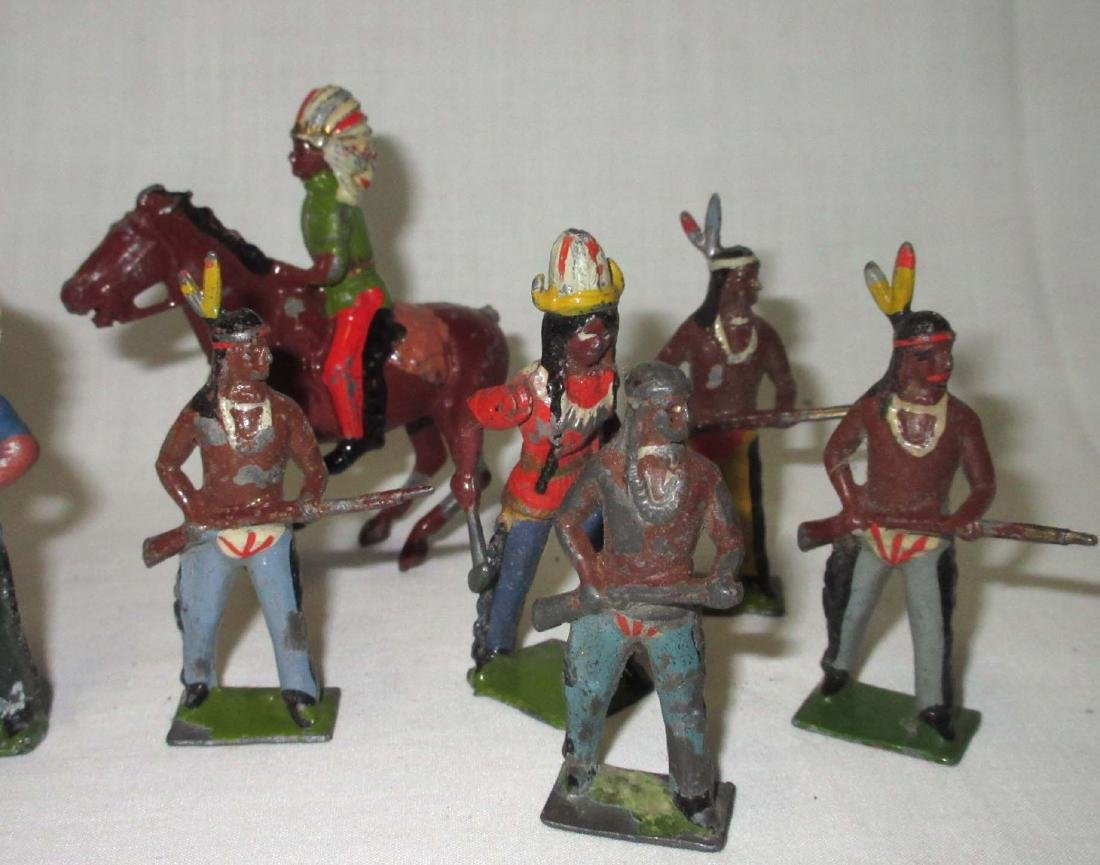 Lot of 12 Indian Lead Soldiers - 3
