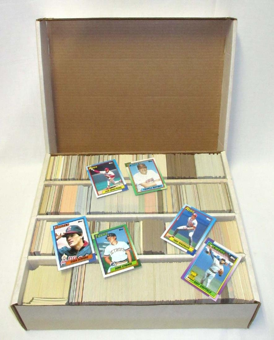 Huge Box 1980's & 90's Baseball Cards