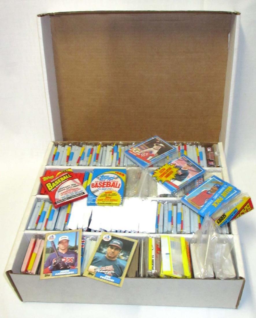 Huge Box 1980's & 90's Baseball Cards