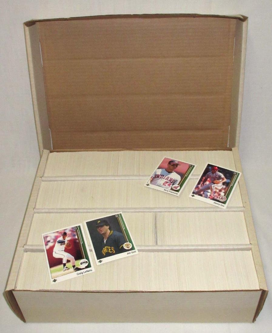 Huge Box 1990 Upper Deck Baseball Cards