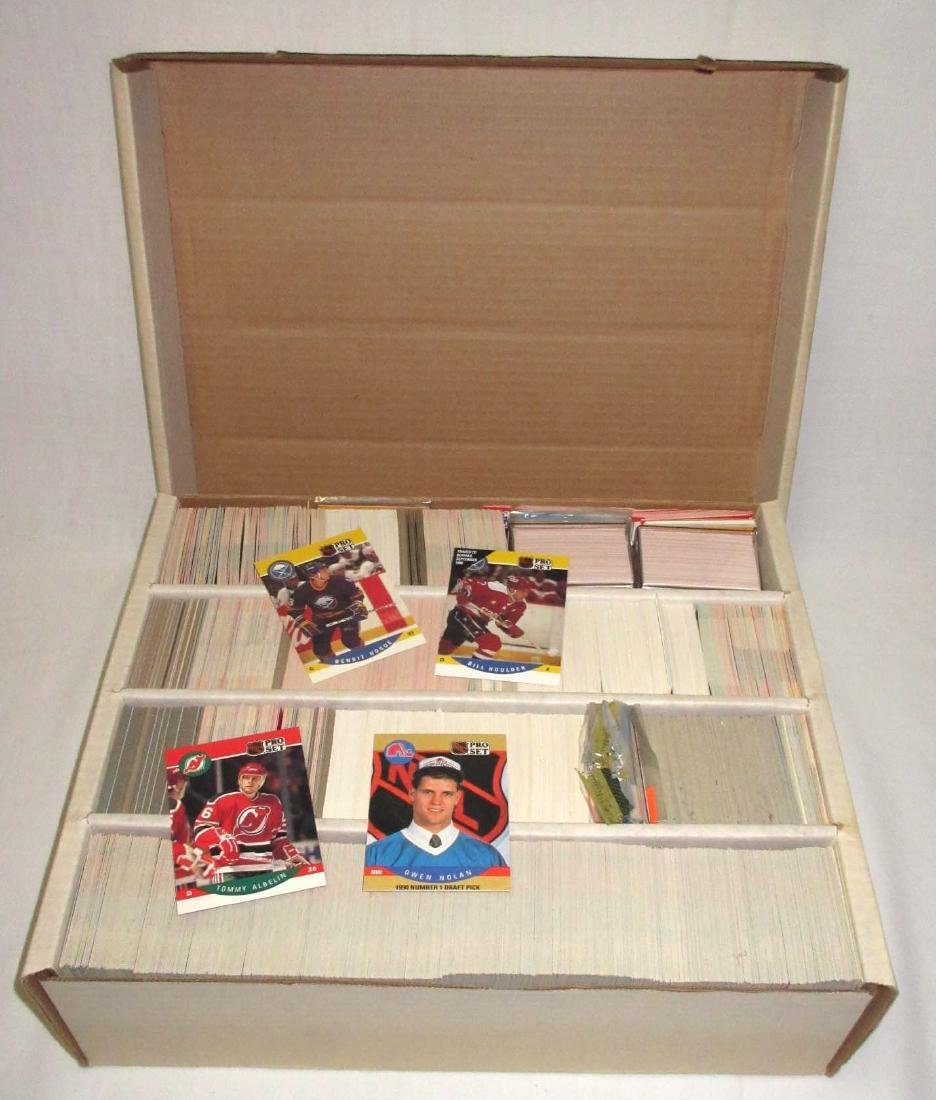 Huge Box Various Early 1990's Hockey Cards