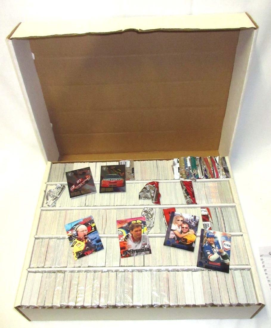 Huge Box NASCAR Trading Cards